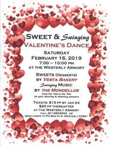 Valentine's Dance flyer